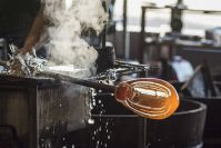 The glass blowing art